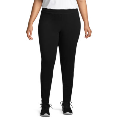 St. John's Bay Active® Secretly Slender Legging - Plus