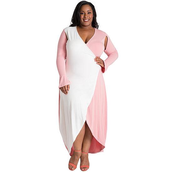 Poetic Justice Leticia Maxi Dress - Plus