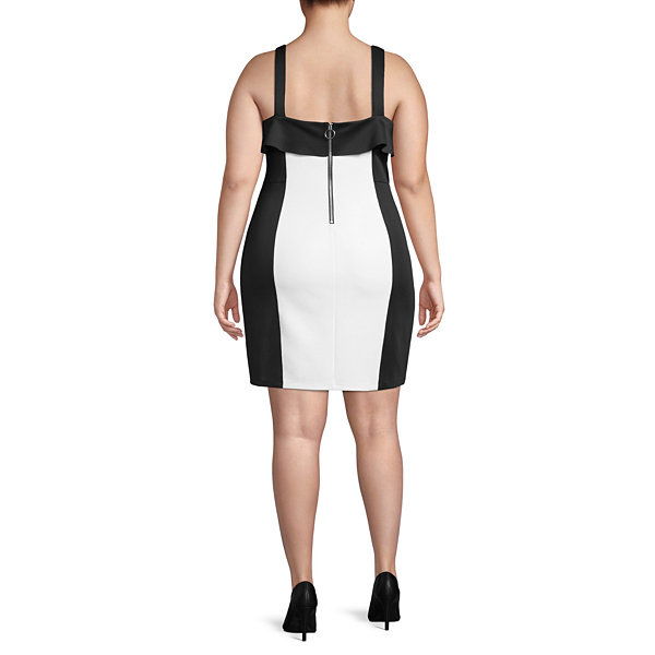 Best of Project Runway All Stars Sleeveless Bodycon Dress - Plus