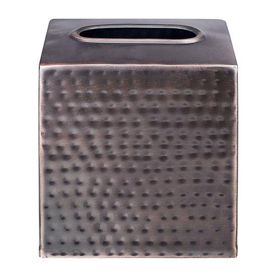 Queen Street Parker Metal Tissue Box Cover