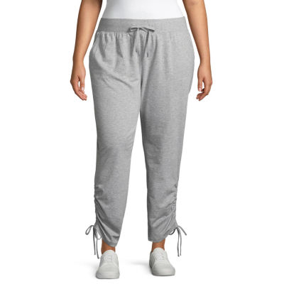 Xersion Side Ruched Jogger Pant - Plus