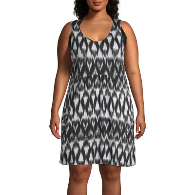 a.n.a Swimsuit Cover-Up Dress-Plus