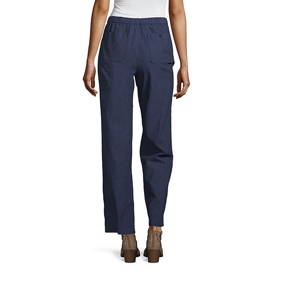Liz Claiborne Linen Pant Tall
