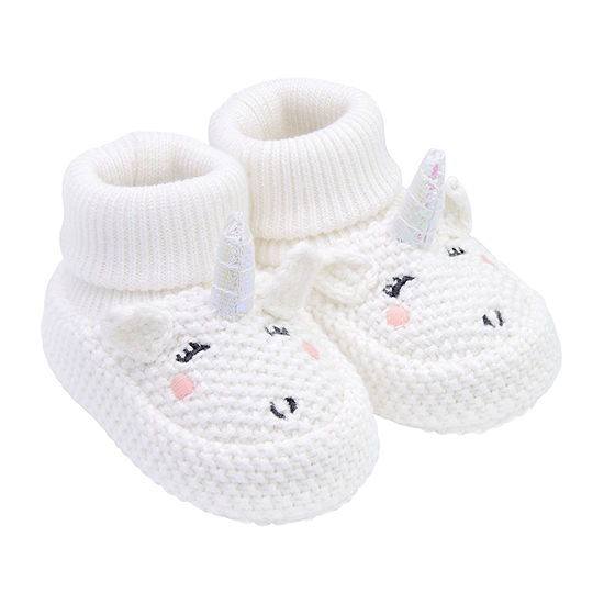 Carter's Unicorn Baby Booties Girls-Baby