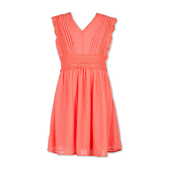 Speechless Girls Sleeveless A-Line Dress - Big Kid