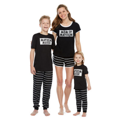 City Streets Mommy and Me Mayhem 2pc Pajama Set