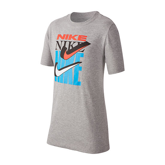Nike - Big Kid Boys Dri-Fit Crew Neck Short Sleeve Graphic T-Shirt