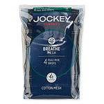Jockey® 4 Pair Classic Breathe Mesh Full-rise Brief -Men's