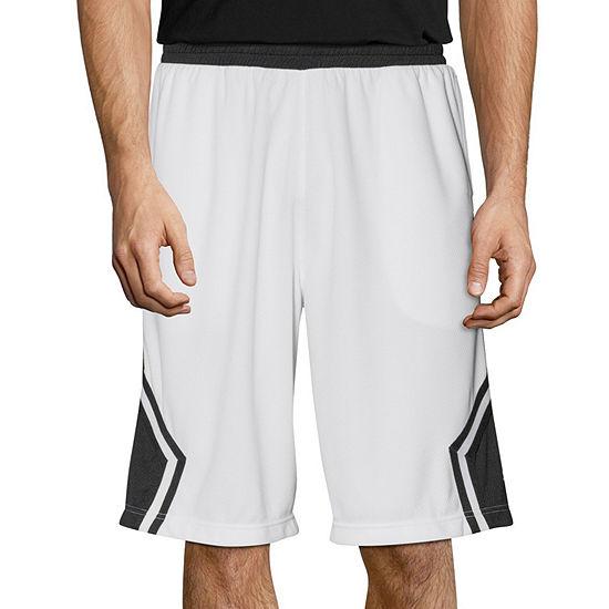 Spalding Mens Elastic Waist Basketball Short