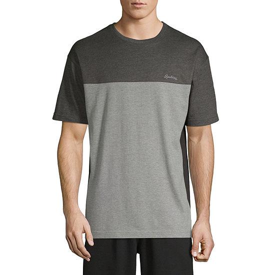 Spalding Mens Throwback T Shirt