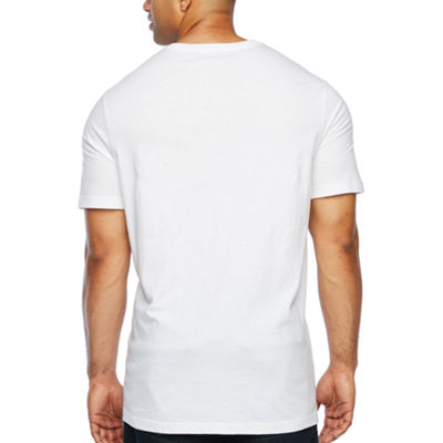 The Foundry Big & Tall Supply Co. Mens V Neck Short Sleeve T-Shirt-Big and Tall