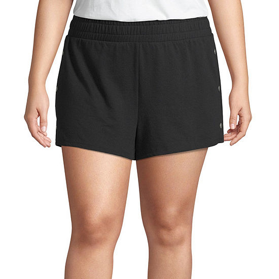 Flirtitude Womens Pull On Short Juniors