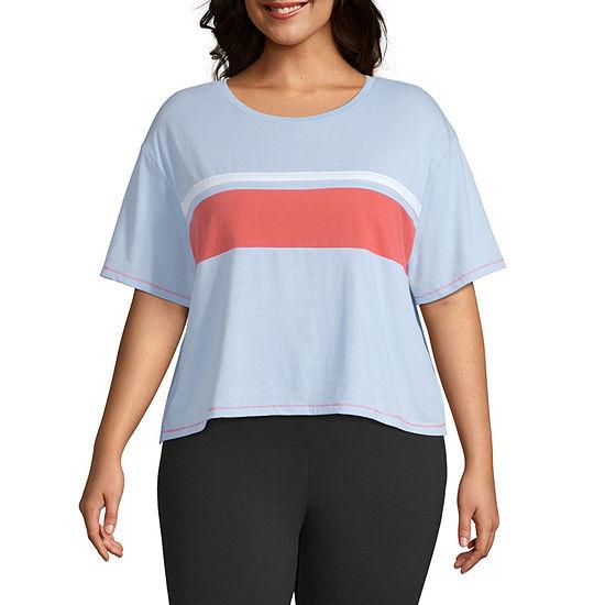Flirtitude-Unisex Round Neck Short Sleeve T-Shirt Juniors Plus