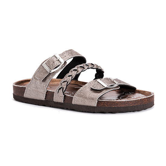 Samsara Womens Bonnie Adjustable Strap Flat Sandals
