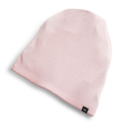 Grace Eleyae Satin-Lined Cap (Slap) Pink Hair Bonnet - Size Small