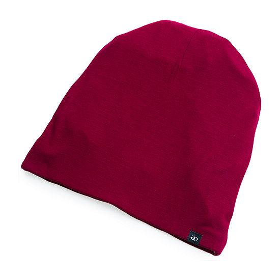 Grace Eleyae Satin-Lined Cap (Slap) Wine Hair Bonnet - Size Large