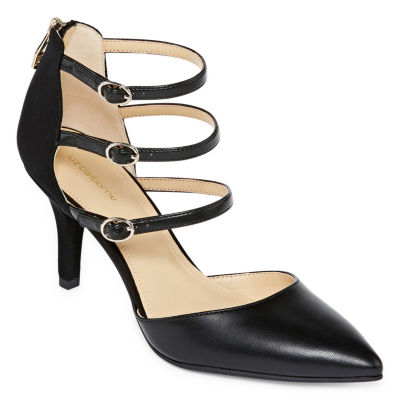 Liz Claiborne Womens Hara Pumps Pointed Toe Spike Heel