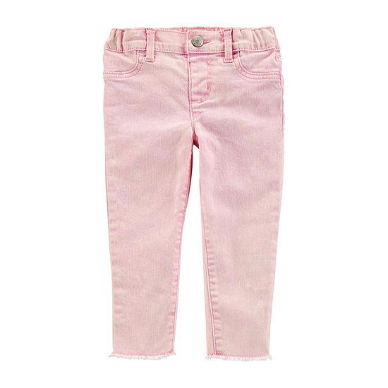 Oshkosh Girls Mid Rise Legging - Toddler