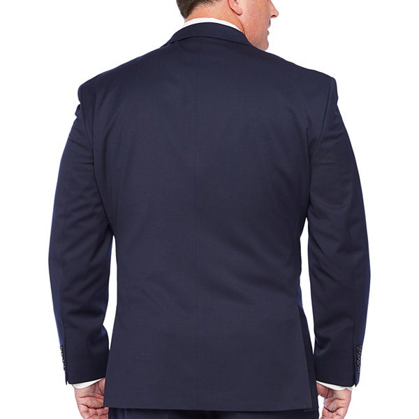 Stafford Super Suit Mens Classic Fit Suit Jacket-Big and Tall