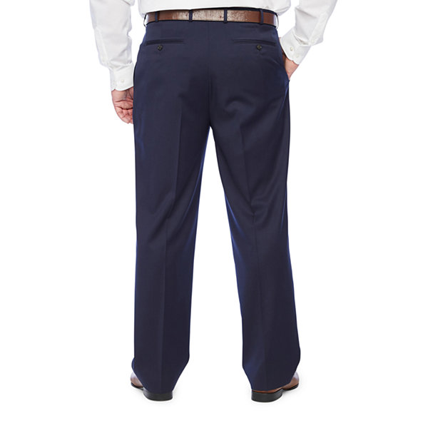 Stafford Super Mens Regular Fit Suit Pants - Big and Tall