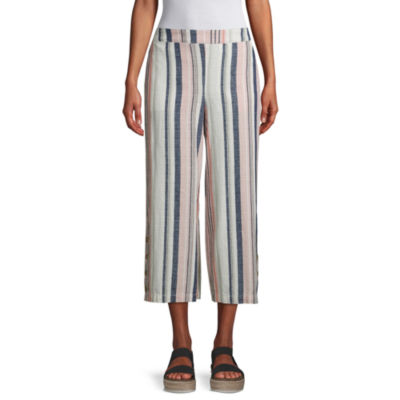 a.n.a Womens Soft Wide Leg Cropped Pants