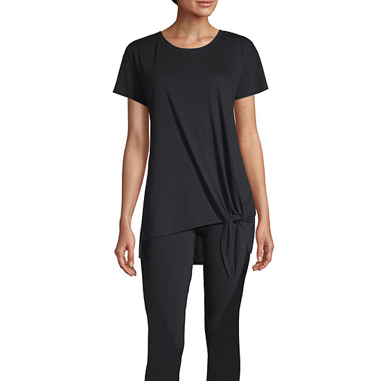 Xersion Womens Round Neck Short Sleeve T-Shirt