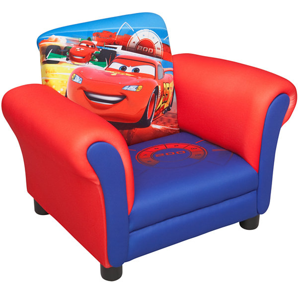 Delta Childrenu0027s Products™ Disney Cars Upholstered Chair