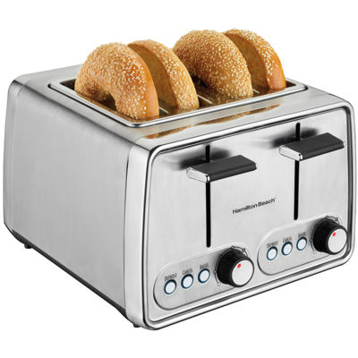 Hamilton Beach® Modern Chrome 4-Slice Toaster