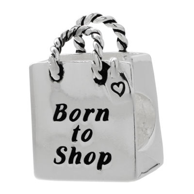 Forever Moments™ Shopping Bag Charm Bracelet Bead