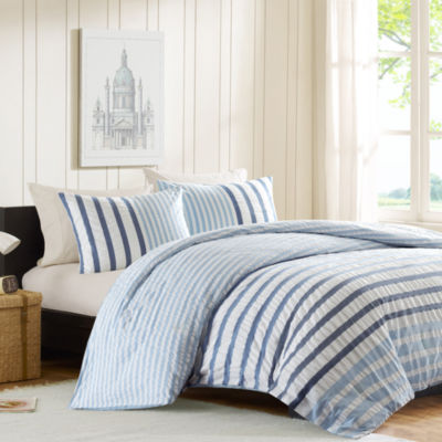 INK+IVY Bryant Striped Comforter Set