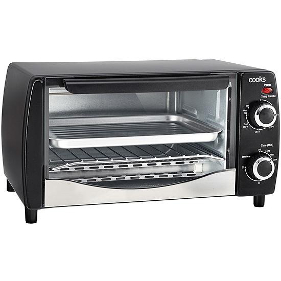 Cooks 4 Slice Toaster Oven