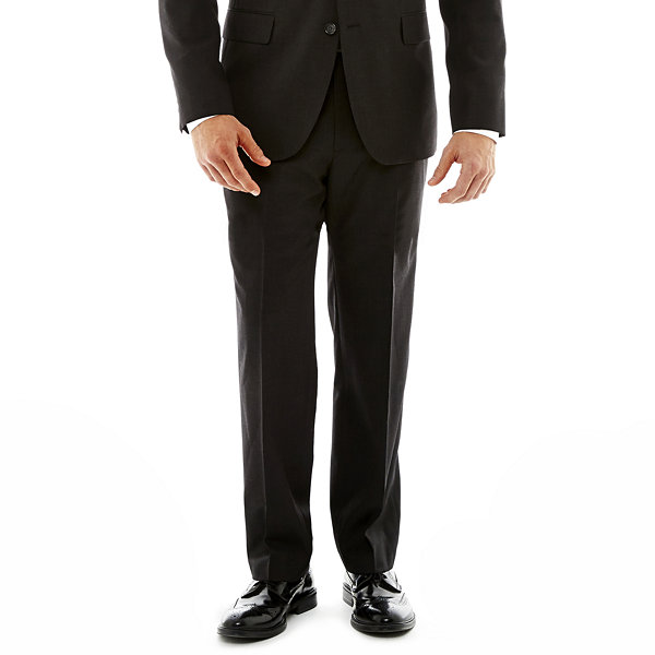 Stafford® Travel Charcoal Suit Jacket–Classic Fit