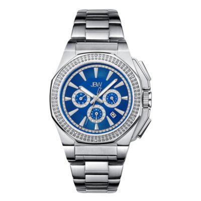 JBW Mens Silver Tone Bracelet Watch-J6329e
