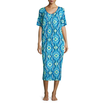 Jasmine Rose  Womens Jersey Nightshirt
