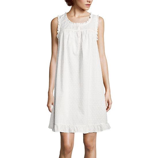 Adonna Womens Nightgown Sleeveless