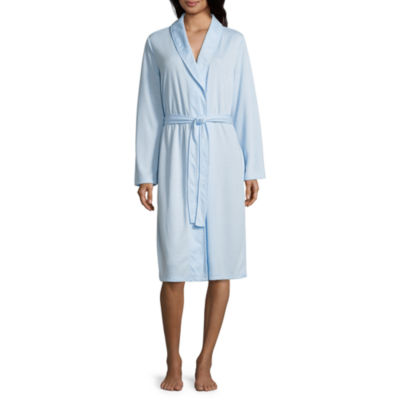 Adonna Long Sleeve Jacquard Wrap Robe