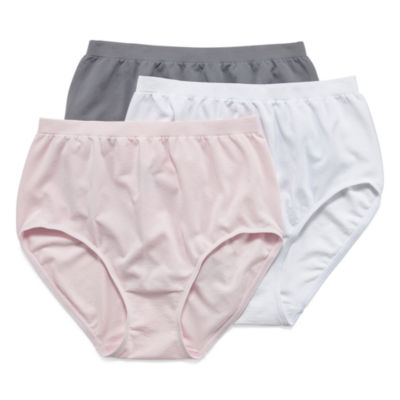 Jockey Comfies® 3 Pair Microfiber Brief Panty