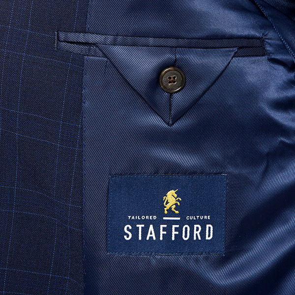 Stafford Travel Stretch Navy WP Jacket Cls