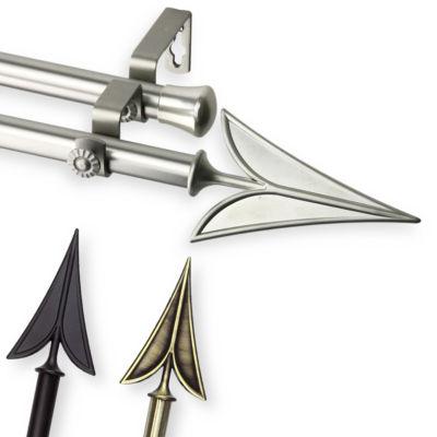 Rod Desyne Blade Double Curtain Rod