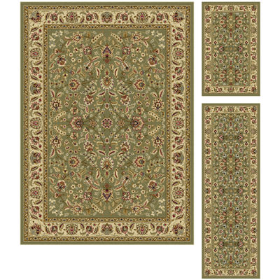 Tayse Laguna Lizbeth 3-pc. Rug Set