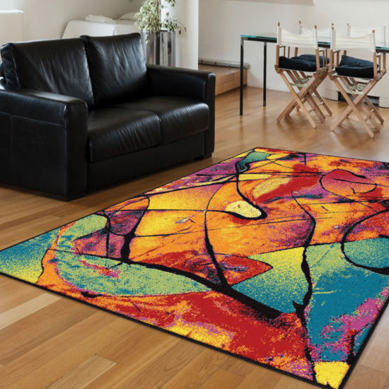 Tayse Symphony Lyric Rectangular Rugs