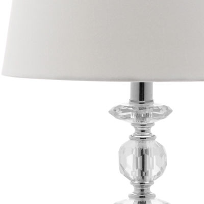 Safavieh Derry Stacked Crystal Orb Lamp