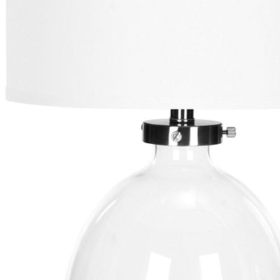 Safavieh Neville Clear Glass Table Lamp