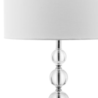 Safavieh Liam Stacked Crystal Ball Lamp