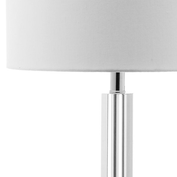 Safavieh Tyrone Crystal Column Lamp