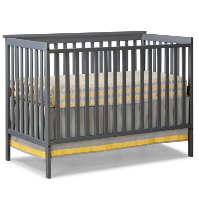 Storkcraft Sheffield 4-in-1 Convertible Crib-Grey