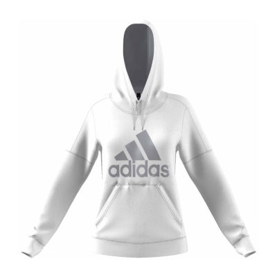 Adidas Long Sleeve Knit Graphic Hoodie