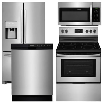 Frigidaire 4 pc Electric Kitchen Package - Stainless Steel