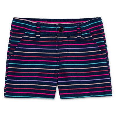 Okie Dokie Woven Shorts- Toddler Girls