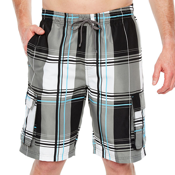 Us Polo Assn. Plaid Swim Shorts